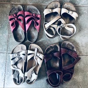 Birkenstock 4 pair Lot Bundle Size 9 | 40